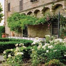 tuscan courtyard gardens Google Search garden Pinterest