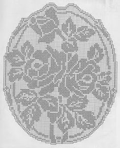 Kira scheme crochet: Scheme crochet no. Filet Crochet Charts, Crochet Cross, Crochet Motif, Crochet Designs, Crochet Yarn, Crochet Stitches, Crochet Flower, Doily Patterns, Crochet Patterns