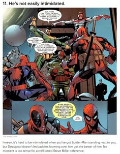 Deadpool...I'd tell you to shut up, but at the same time, I'd never want you to.