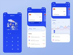 CC Bank App designed by Avtø . Connect with them on Dribbble; Web Design, App Ui Design, Interface Design, User Interface, Design Layouts, Graphic Design, Flat Design, Mobile App Design, Flat Ui