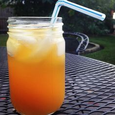 The Firefly Dirty Fruit Tea!  Made with 1.5 oz Firefly Sweet Tea Vodka, 3 oz pineapple juice and .75 oz orange juice.  Easy. Sweet. Delicious!