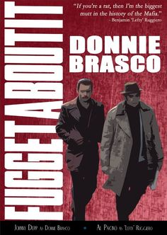 a review of donnie brasco a mobster movie by mike newell Read what our users had to say about donnie brasco at but based on the user reviews here it is almost any other mobster movie donnie is such a great.