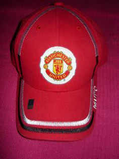 ad20f9851ca Licensed Manchester United MUFC Official Authentic Soccer Cap Hat Fast  Shipping  Rhinox  ManchesterUnitedFootballClub Manchester