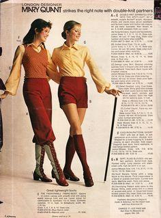 Mary Quant   JC Penny F/W Catalog 1971