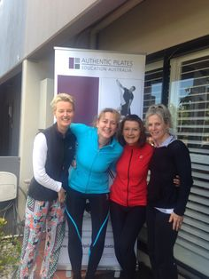 Best Workshop ever and I got to catch up with all beautiful energetic Pilates Instructors i'm living the dream very happy.