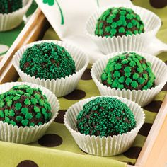 St. Patty's Day Mud Balls recipe