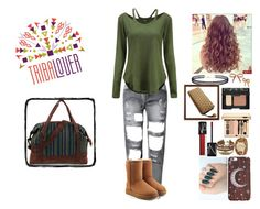 """""""#Tribalover"""" by rider4life12 ❤ liked on Polyvore featuring UGG, Kahuna, Betsey Johnson, LULUS and NARS Cosmetics"""