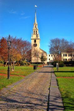 Trinity Church in Newport, Rhode Island.