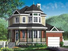 Country House Plan with Virtual Tour - 80040PM thumb - 02
