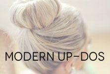 modern up-dos