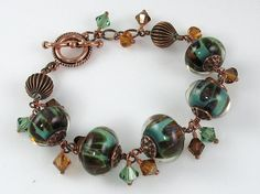 Beneath the Surface - Artisan Handcrafted Bracelet
