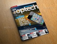 """Check out new work on my @Behance portfolio: """"Tech Reviews Magazine Template"""" http://be.net/gallery/36396199/Tech-Reviews-Magazine-Template"""