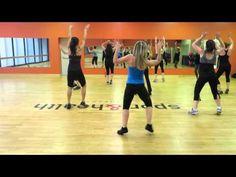 """Christina Aguilera """"Candy Man"""" Zumba Workout"""