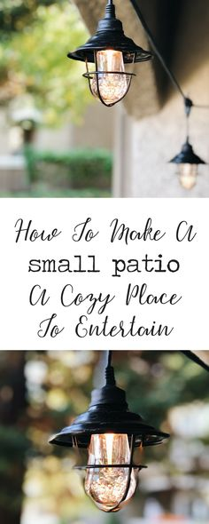 How To Make A Small Apartment Patio A Cozy Place To Entertain - Katie Crenshaw Kitchen Decor Themes, Dining Decor, Apartment Porch, Natural Bedding, Cool Apartments, Cozy Place, Furniture For Small Spaces, Small Patio, Diy On A Budget