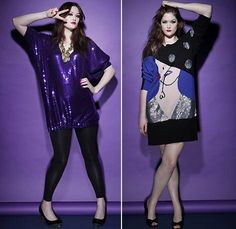 plus size clothing | The collection draws from Beth's personal style, with lots of sequins ...