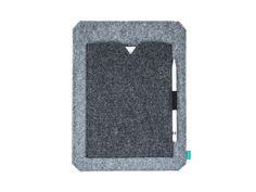 iPad Pro sleeve case with pocket iPad Pro felt by GopherHandmade