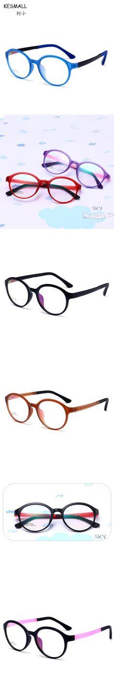 KESMALL Newest Kids Ultra-light Glasses Frame Fashion TR90 Eyeglasses Frames Boys Girls Computer Eyewear Occhiali Miopia XN552