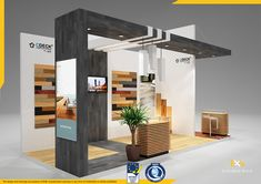 Cdeck on Behance Gate Wall Design, Hall Design, Stand Design, Display Design, Exhibition Stall Design, Exhibition Stands, Exhibit Design, Exhibition Ideas, Booth Decor