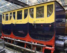 Slow Train to Switzerland - An original 1834 Bodmin and Wadebridge Railway composite carriage. National Railway Museum (NRM - York, UK)