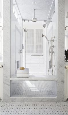 Beacon Hill Townhouse Bath Contemporary by Tom Stringer Design Partners