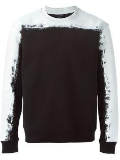 Mcq Alexander Mcqueen Painted Degrade Sweatshirt - Twist'n'scout - Farfetch.com