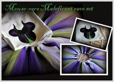 Signed up for this years Disney Tower of Terror 10-miler race? Attending Mickey's Not So Scary Halloween Party or just looking for a cool Halloween costume?  Tutu features black, purple & white tulle, with a 4th accent color option- making it the perfect part of your costume for characters such as Maleficent from Disney's Sleeping Beauty, Ursula from Disney's The Little Mermaid, The Evil Queen from Disney's Snow White, and many more
