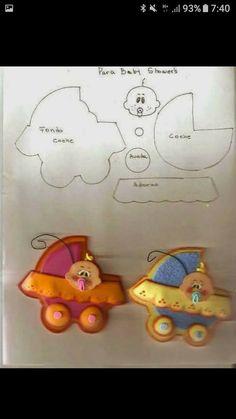 Diy Craft Projects, Diy Crafts, Mushroom Crafts, Bear Felt, Food Labels, Felt Ornaments, Handmade Art, Baby Boy Shower, Stencils