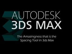The Amazing Spacing Tool - 3ds Max 2015