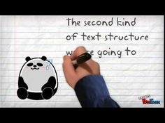 Text Structures Part 1 (4:23 min) - Examples of descriptive, problem & solution, and sequence writing formats. #Education, Research, Library, Integrated Project, Writing, Descriptive, Problem / Solution, Sequence