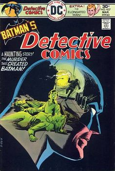 """Cover art by Dick Giordano as is the main inside story. Probably the best in his career.    The secret of Crime Alley: The night Joe Chill bereaved young Bruce Wayne, a social worker took the boy in and continues to care for that part of Gotham City today. Diana Muldaur (""""Star Trek TNG"""") voiced Leslie Thompkins in the 90s Bat-toon."""
