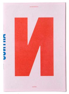 CONTRA : UM MANIFESTO / A MANIFESTO
