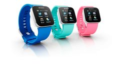Sony Smart Watches  (Blue, Turquoise, Pink) $150