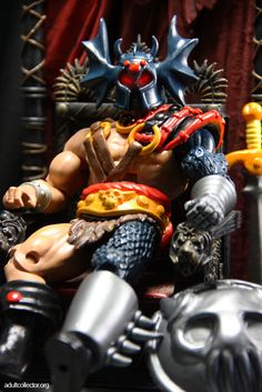 Custom Masters of the Universe Classics Warduke Figure from Alvis Underground!