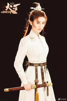 Warrior Girl, China Girl, Chinese Clothing, Oriental Fashion, Chinese Actress, Hanfu, Chinese Style, Traditional Dresses, Asian Beauty