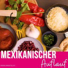 Mexikanischer Auflauf! Das gibt es heute - angepasst an die TCM Ernährung natürlich. Mexikanische Rezepte kannst du auch super umwandeln und es zu einem deiner TCM Rezepte machen. #mexikanischerezepte #tcmrezepte #mexikanischerauflauf #tcm #tcmernährung #tcmernährungrezepte Super, Vegetables, Videos, Food, Mexican Recipes, Mexico, Essen, Vegetable Recipes, Meals