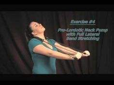 Neck Exercises--Improving the Cervical Curve - YouTube