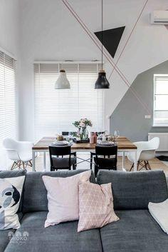 Contemporary apartment by Shoko Design 14 Home Living, Tiny Living, Living Room Decor, Living Spaces, Living Area, Floor Design, House Design, Sweet Home, Relaxation Room