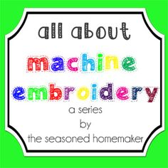 All About Machine Embroidery::  Day 30 – Machine Embroidered Buttonholes
