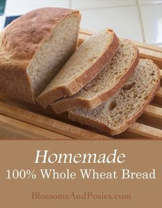 Make your own light and delicious whole wheat bread from scratch! No brick-like … Make your own light and delicious wholegrain bread from scratch! There is no brick-like wholemeal bread, this recipe is perfect for sandwiches. Bread Machine Recipes, Banana Bread Recipes, Sour Milk Bread Recipe, Homade Bread Recipes, Wholemeal Bread Recipe, Healthy Homemade Bread, Bread Recipes For Kids, Homemade Sandwich Bread, Sandwich Loaf