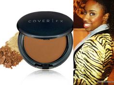 Jessica of Glamazons loves the Cover FX Pressed Mineral Foundation. Her shade is N90. #coverfx