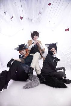 Bungo Straydogs Group Cosplay Cosers: 祭 Matsuri, JB Mu TW Cosplayer-小穆, 38/2-一九 Photo by I.F 逸凡