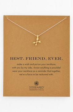 Women's Dogeared 'best. Friend. Ever.' Pendant Necklace