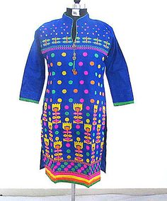 Designer Ethnic Kurti Top Tunics For Women Ladies Bollywood Casual Dress Sz- XL