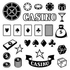 Set of casino gambling objects. Graphics Set of casino gambling game objects and icons. by incomible Black Wallpaper Iphone Dark, Poker Tattoo, Wood Burning Stencils, Bunny Tattoos, Poker Chips Set, Tattoo Templates, Cute Tiny Tattoos, School Icon, Tattoo Ideas