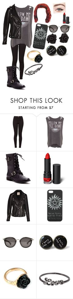 """""""Grunge Rebel"""" by i-found-wonderland ❤ liked on Polyvore featuring American Apparel, Pull&Bear, Sole Society, Monki, Moncler, Marc by Marc Jacobs, LeiVanKash and Icepinkim"""