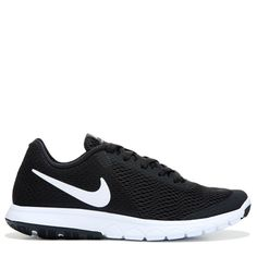 size 40 2eaed 74d7b Nike Women s Flex Experience RN 6 Running Shoes (Black White) Wide Running  Shoes,