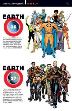 dc universe earth 36 and 37 Marvel Dc Comics, Dc Comics Superheroes, Dc Comics Characters, Dc Comics Art, Marvel Vs, Read Comics, Gi Joe, Superhero Facts, Dc World