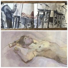 Life Drawing by Will Freeborn