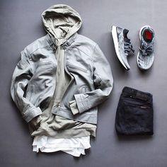 WEBSTA @ wdywt - 👍or👎: #WDYWTgrid by @damodamo_#mensfashion #outfit #ootd👕: #Topman👖: #Nudie👟: #Adidas #UltraBoost Uncaged#WDYWT for on-feet photos#WDYWTgrid for outfit lay down photos•
