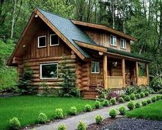 Search for your dream log home floor plan with hundreds of free house plans right at your fingertips. Looking for a small log cabin floor plan? Search our cabin section for homes that are the perfect size for you and… Continue Reading → Log Cabin Living, Small Log Cabin, Tiny Cabins, Tiny House Cabin, Log Cabin Homes, Cabins And Cottages, Log Cabins, Log Home Plans, House Plans